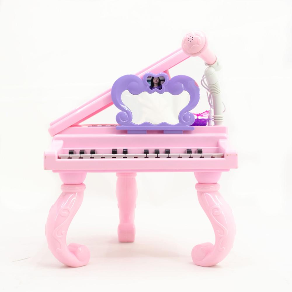 Karaokeli Mikrofonlu Mp3 Çalarlı Oyuncak Piyano
