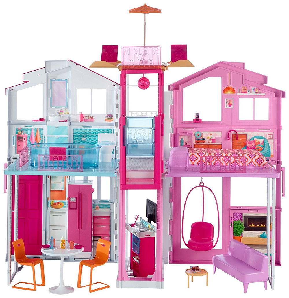 MATTEL DLY32 Barbie'nin Malibu Evi