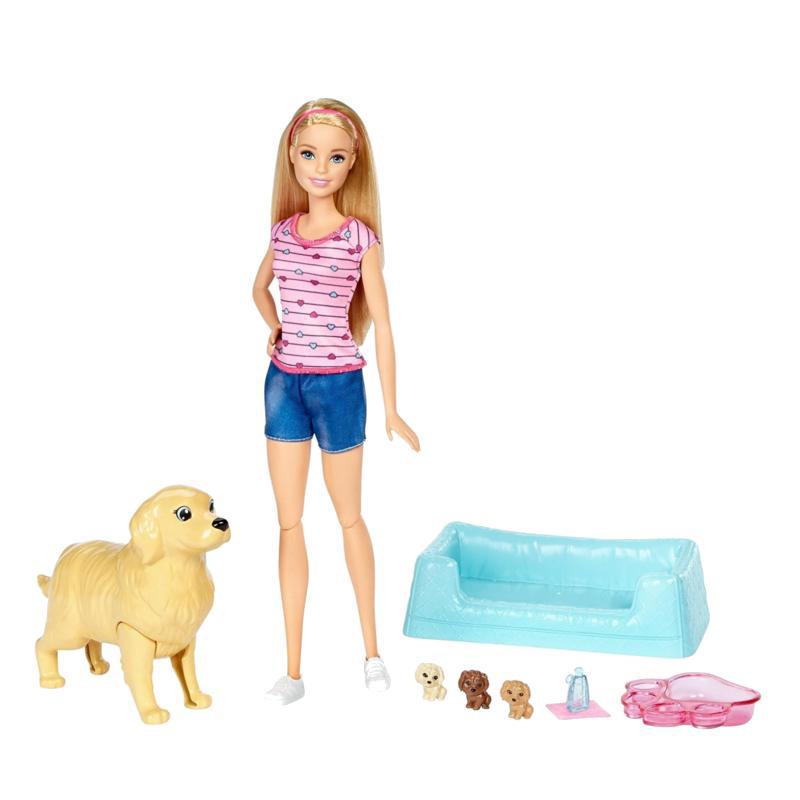 MATTEL FBN17 Barbie Ve Doğuran Köpeği