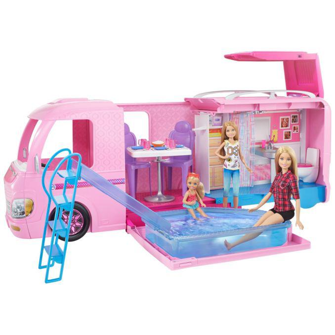 MATTEL FBR34 Barbie'nin Muhteşem Karavanı