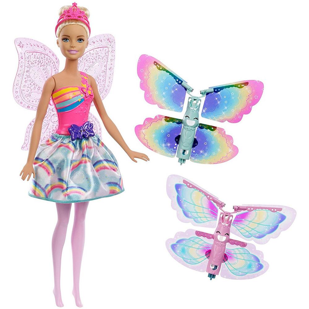 MATTEL FRB07 Barbie Dreamtopia Kanatlı Bebek