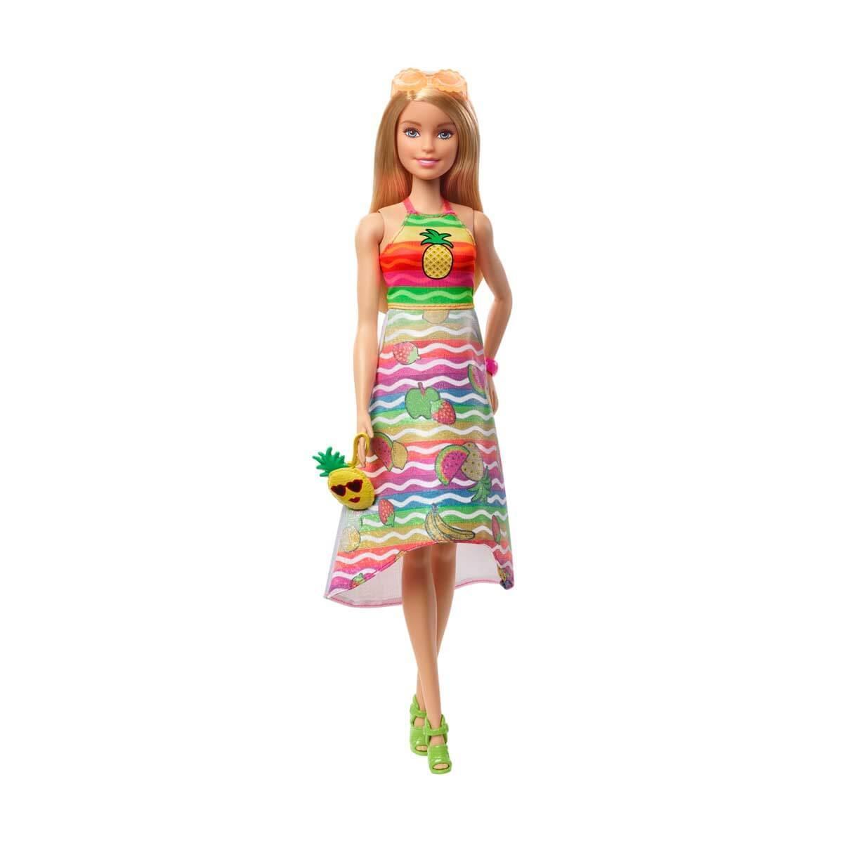 MATTEL GBK17 Barbie Crayola Mevyeli Tasarım Bebeği