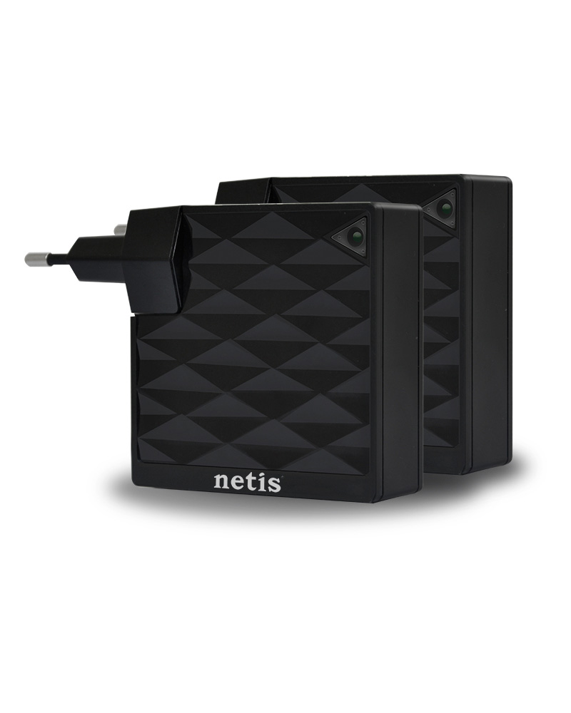 Netis PL7200 KIT AV200 Powerline Adaptör Kiti