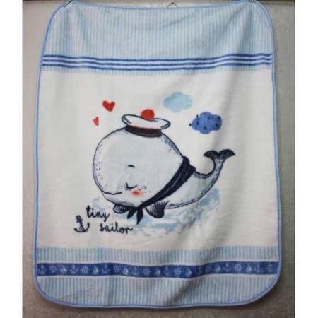 Özdilek 100x120 Tiny Sailor Bebek Battaniyesi.