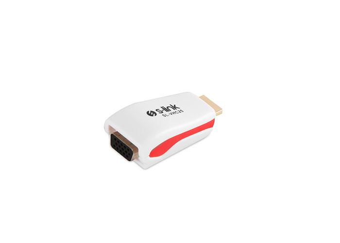 S-Link SL-VHC25 VGA To HDMI Çevirici Adaptör