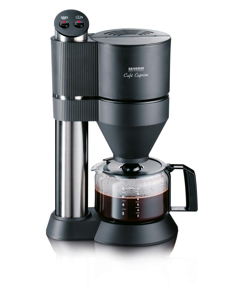 SEVERIN KA5702 Cafe Caprice Filtre Kahve Makinesi, Siyah