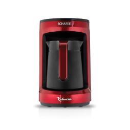 Schafer Kahvecim Otomatik Türk Kahve Makinesi, Kırmızı