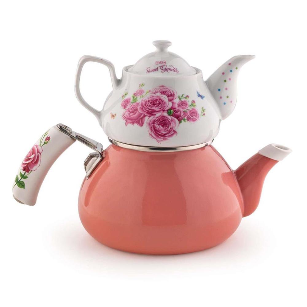 Schafer Stelle Çaydanlık Takımı, Pembe