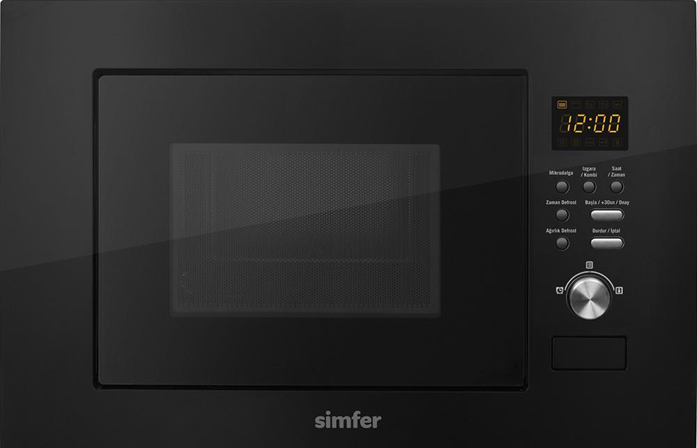 Simfer 2320 MD Siyah Ankastre Mikrodalga w:1610 h:1035