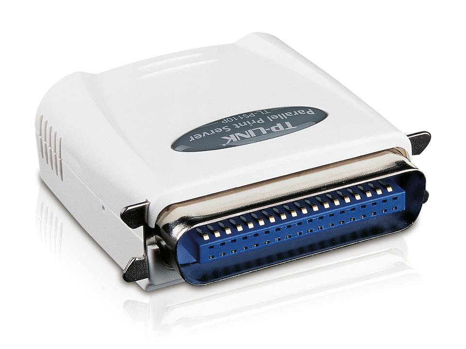 TP-Link TL-PS110P Tek Paralel Portlu Fast Ethernet Print Server