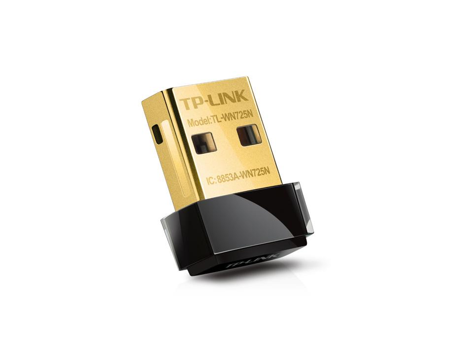 TP-Link TL-WN725N 150Mbps Kablosuz N Nano USB Adaptör