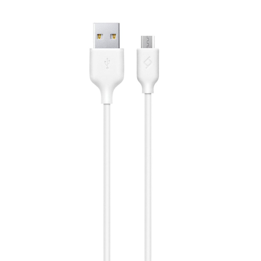 TTEC 2DK7530B Micro USB Şarj Kablosu, Beyaz