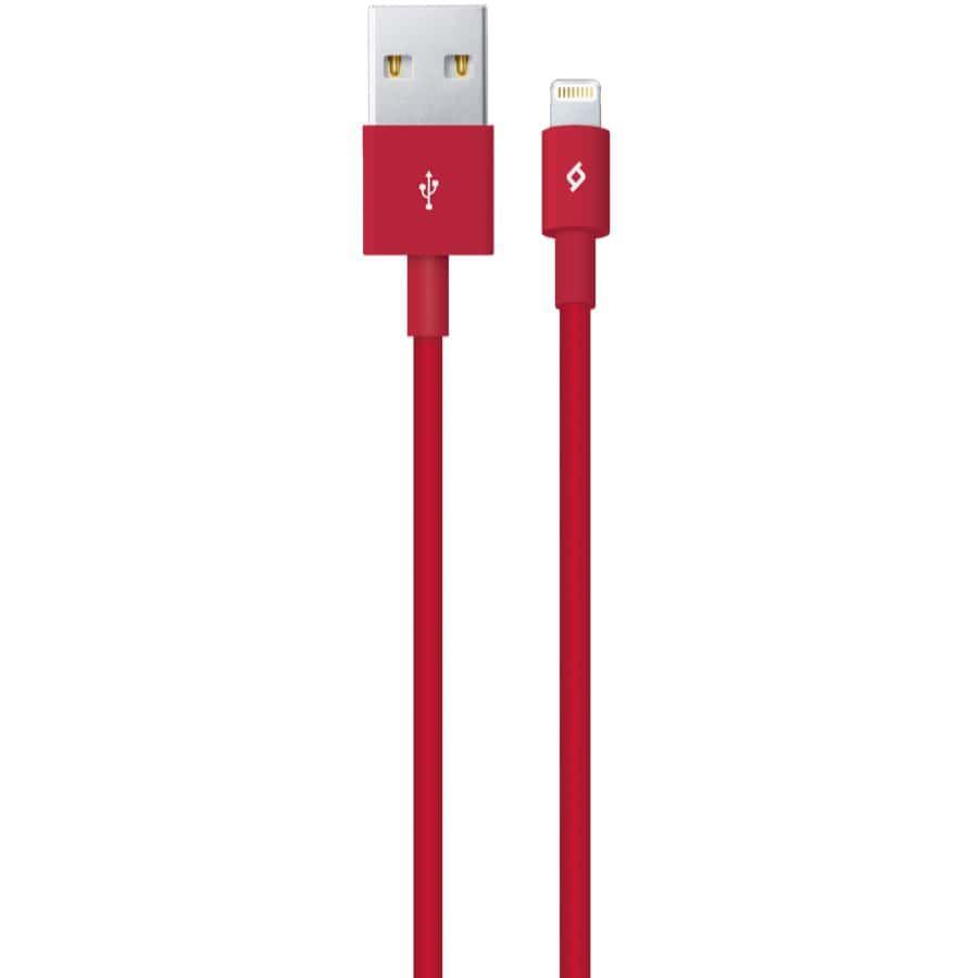 TTEC Lightning  2DK7508K iPhone Şarj Kablosu, Kırmızı