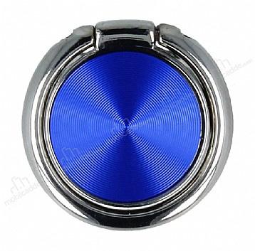 Telefon Tutucu Selfie Yüzüğü, Mavi