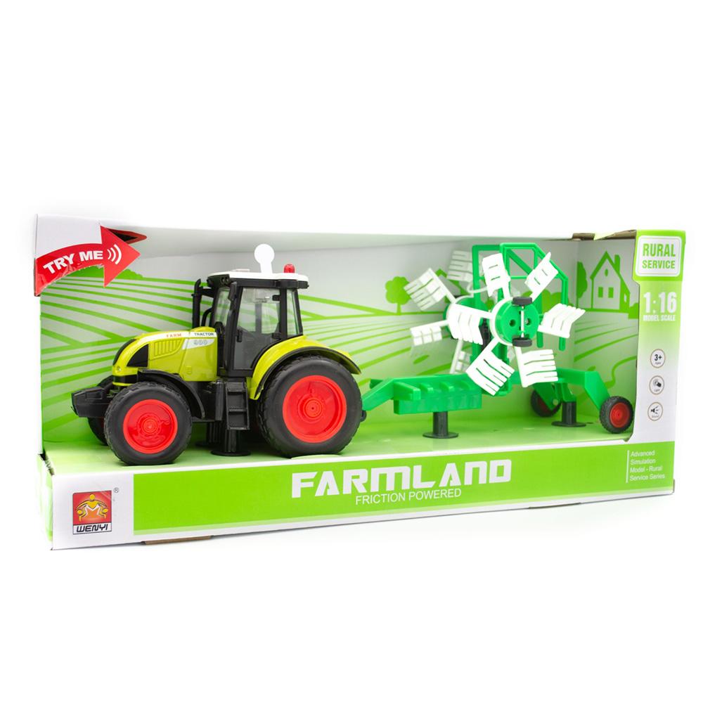 Wenyi Farmland İttirmeli Sesli Tırpanlı Traktör