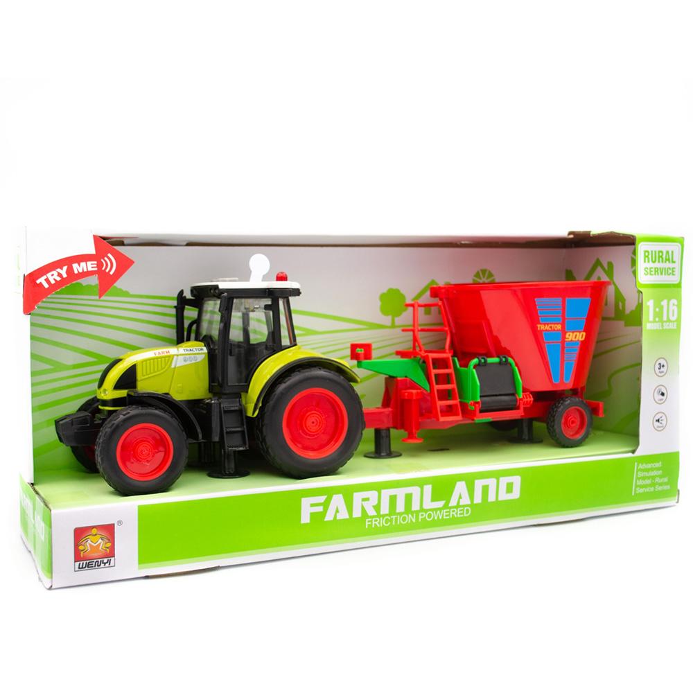Wenyi Farmland İttirmeli Sesli Tohum Makineli Traktör